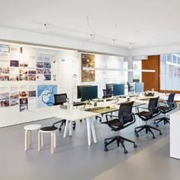 Aménagement bureau - Open space créatif