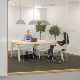 Aménagement salle de réunion design