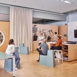 Aménagement salle de réunion design - Coopération équipe