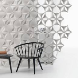 Cloison Acoustique Airflake par Abstracta