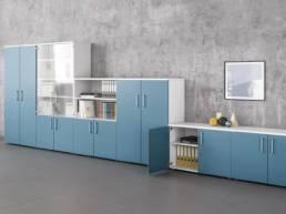 Rangement armoire mobilier d'entreprise - Mot de Passe