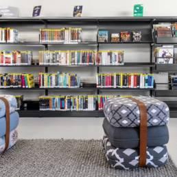 Aménagement bibliothèque - Mobilier moderne