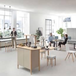 Aménagement espace cafet - Coworking