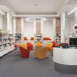 Aménagement médiathèque - Architecte d'intérieur