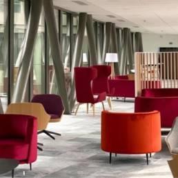 Ameublement espace commun Métropole Européenne de Lille - Mot de Passe mobilier