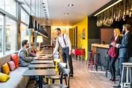 Aménagement bar / restaurant pour Hôtel Novotel