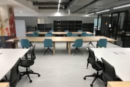 Ameublement bureaux et benchs espace coworking