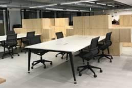 Bureaux collaboratifs open space - Mot de Passe Mobilier