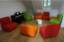 Mobilier professionnel espace lounge - Mot de Passe