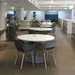 Ameublement salle de restauration - CPAM de Douai