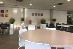 Aménagement salle de restaurant - CPAM de Lille