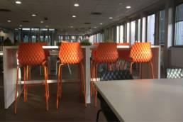Ameublement espace de restauration d'entreprise - CPAM de Lille