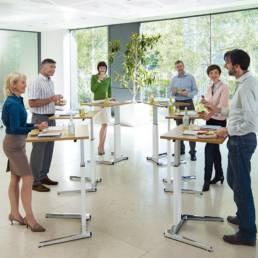 Salle de réunion bureaux modulables