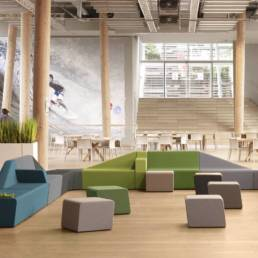 Solutions d'aménagement - Espace commun coworking