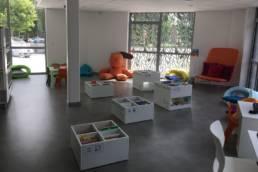 Ameublement espace enfant - Médiathèque Beuvrages | Mot de Passe Mobilier
