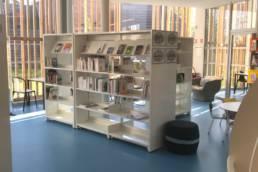 Ameublement médiathèque bibliothèque design