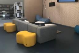 Ameublement espace média - Médiathèque Templeuve