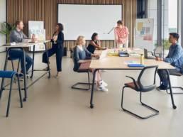 Aménagement d'entreprise - Bureaux et tables - Mot de Passe Mobilier